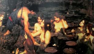 John William Waterhouse | Hylas and Nymphs